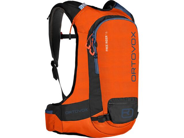 Ortovox Free Rider 16 Backpack Crazy Orange